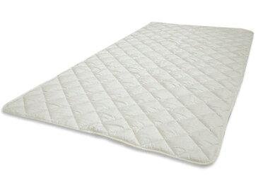 洗える♪ダクロンアクア(4-hole Fiberfill)ベッドパッドサラト ジュニアサイズ(85×185cm)