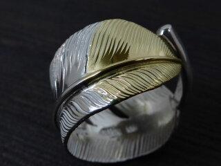 ディアブロッサム先金大フェザーリング指輪ゴローズインディアンジュエリー