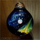 synchronicityglassart(シンクロニシティグラスアート)太田龍『Wcompositeuniverse/複合宇宙ダブルネビュラ×宇宙のオーロラ』SNG-822【あす楽対応】宇宙/ガラスペンダント