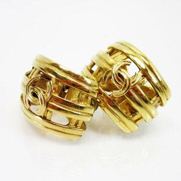 【】シャネルCHANELイヤリングココマーク◆ゴールド金属素材◆定番人気◆レディース-t11826