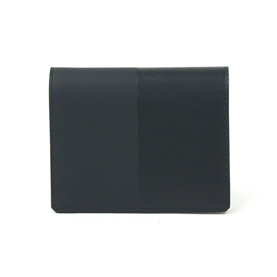 【おすすめ】【中古】エルメス HERMES 二つ折り財布 二つ折り札入れ カードケース マンハッタン コンパクト ブラック ヴォーソンブレロ/ヴォー・タデラクト メンズ - 93330:ブランドバリュー