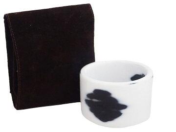 【おすすめ人気アイテム】【】エルメスHERMESブレスレットホワイトxブラックプラスチックバングル太ブレスレディース-e29282