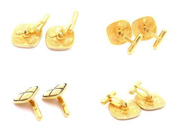 【定番人気】【】シャネルCHANELファッション小物マトラッセヴィンテージゴールド金属素材カフスレディースメンズ-e28933