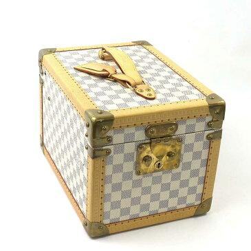 ルイヴィトン Louis Vuitton メイクボックス 化粧ケース ダミエ アズール ボワット・フラコン アズール(グレーxホワイト系) ダミエキャンバス レディース N48032 プレミアム特集【中古】【定番人気】 - 94962