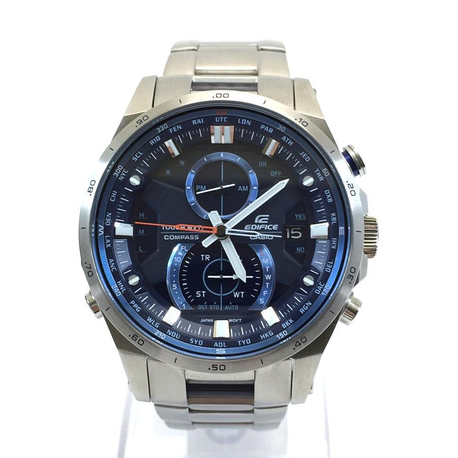 カシオ CASIO 小物(アパレル系) エディフィス 腕時計 メンズ EQW-A1200【中古】【定番人気】 - v41651:ブランドバリュー