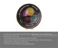 WilliamOpticsGT71mmf5.93枚玉APO屈折鏡筒FPL53