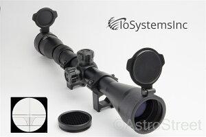 IoSystemsIncHG仕様ライフルスコープキルフラッシュ、バトラーキャップ、日本語説明書付き3-9X40HGPro口径40mm3-9倍ズーム窒素ガス充填モデル20mmハイマウントリング付属スナイパーライフル[国内正規品]