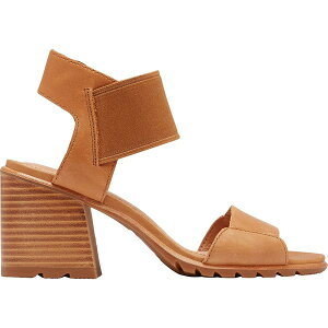 ソレル レディース サンダル シューズ Nadia Sandal - Women's Camel Brown