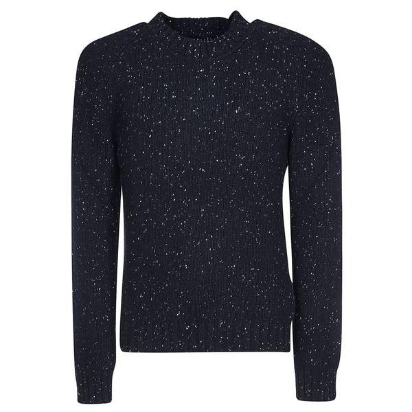 マルタンマルジェラ メンズ ニット&セーター アウター Maison Margiela Ribbed Round Neck Sweater DarkBlue