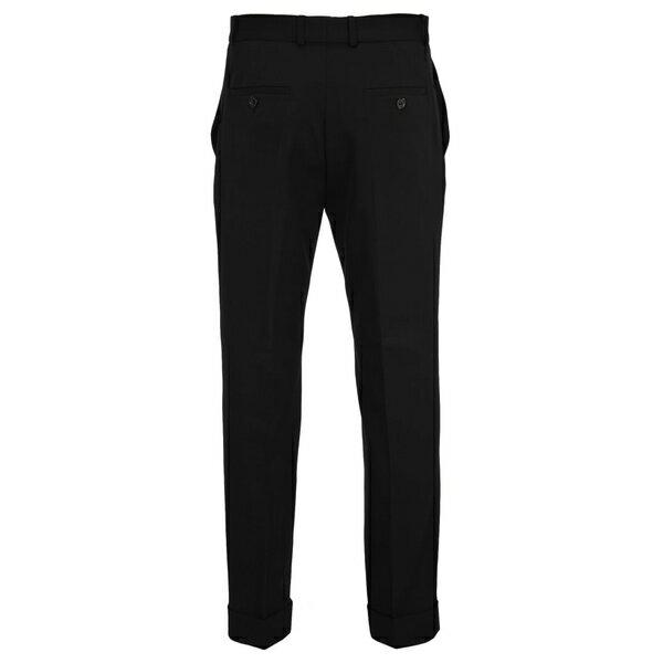 ワイプロジェクト メンズ カジュアルパンツ ボトムス Y/project Y/project Y-cuff Trousers BLACK