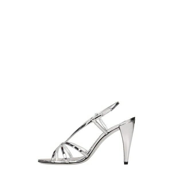 ジバンシー レディース サンダル シューズ Givenchy Show 95 Silver Mirror Calf Leather silver