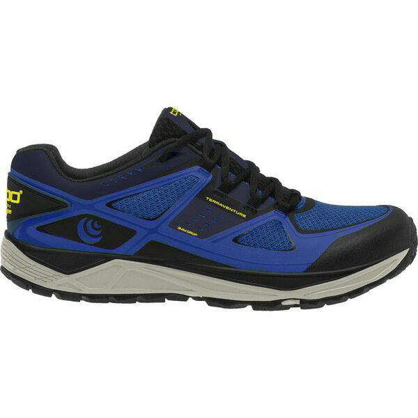 トポアスレチック メンズ ランニング スポーツ Topo Athletic Terraventure Trail Running Shoe - Men's Blue/Black