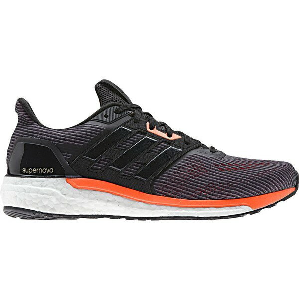 アディダス メンズ ランニング スポーツ Adidas Supernova Running Shoe - Men's Utility Black/Core Black/Solar Orange