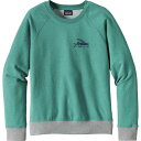 パタゴニア レディース パーカ&スウェット アウター Patagonia Small Flying Fish Midweight Crew Sweatshirt - Women's Elwha Blue