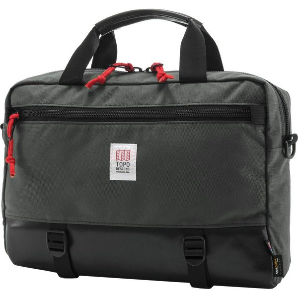 62a6ee5ebf27 トポ·デザイン メンズ バックパック·リュックサック バッグ Commuter 13L Briefcase Charcoal/Black  Leather トポ·デザイン メンズ バッグ バックパック·リュック ...