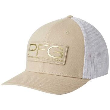コロンビア メンズ 帽子 アクセサリー Columbia Men's PFG Mesh Hooks Ball Cap FOSSIL/GOLD