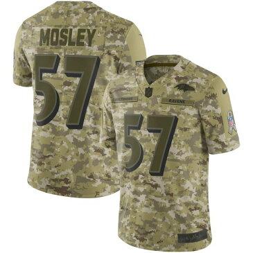 ナイキ メンズ シャツ トップス C.J. Mosley Baltimore Ravens Nike Salute to Service Limited Jersey Camo
