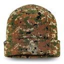 ファナティクス メンズ 帽子 アクセサリー Ottawa Senators Fanatics Branded Authentic Pro Military Appreciation Cuffed Knit Hat Camo