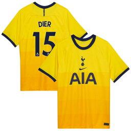 ナイキ メンズ ユニフォーム トップス Tottenham Hotspur Nike 2020/21 Third Custom Replica Jersey Yellow