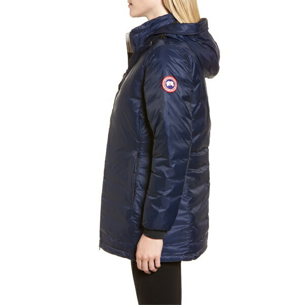 カナダグース レディース コート アウター Canada Goose Camp Fusion Fit Packable Down Jacket Admiral Blue/ Black