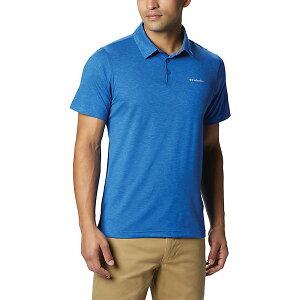 コロンビア メンズ ハイキング スポーツ Columbia Men's Tech Trail Polo Shirt Azul