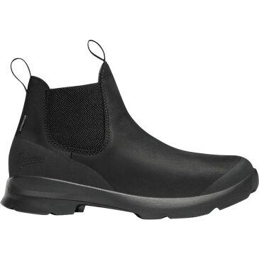 ダナー レディース ブーツ&レインブーツ シューズ Danner Women's Pub Garden 4.5'' Chelsea Waterproof Work Boots JetBlack