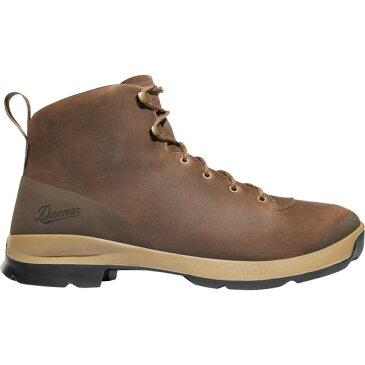 ダナー メンズ ブーツ&レインブーツ シューズ Danner Men's Pub Garden 6'' Waterproof Hiking Boots Chocolate