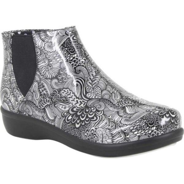 アレグリア レディース ブーツ&レインブーツ シューズ Climatease Ankle Boot Whack-a-Doodle Grey Rubber画像