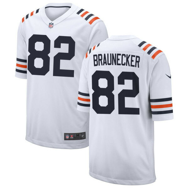 トップス, カジュアルシャツ  Chicago Bears Nike 2019 Alternate Classic Custom Game Jersey White
