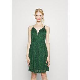 ヴァル ジー レディース ワンピース トップス CAMRYN STRAPPY SKATER DRESS - Day dress - forest green cfip01b0