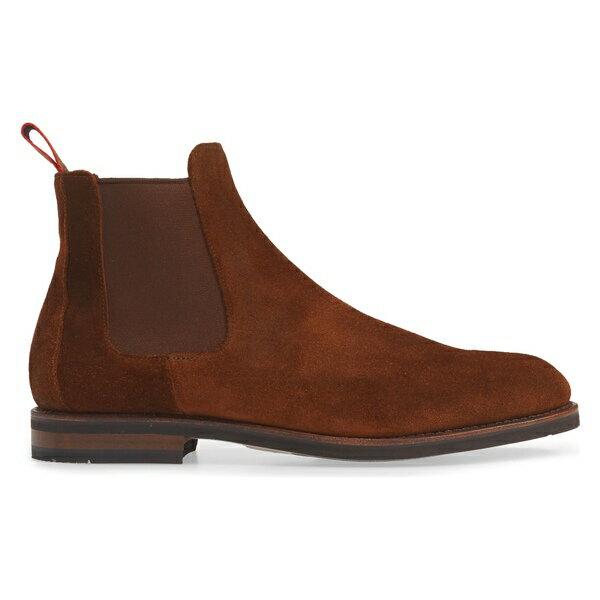 アレン エドモンズ メンズ ブーツ&レインブーツ シューズ Allen Edmonds Nomad Chelsea Boot (Men) Snuff Suede
