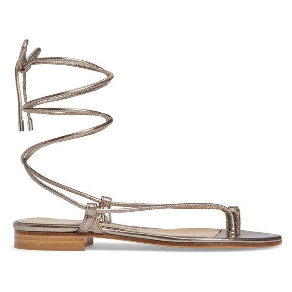 エマパーソンズ レディース サンダル シューズ Emme Parson Ava Toe Loop Sandal (Women) Platinum