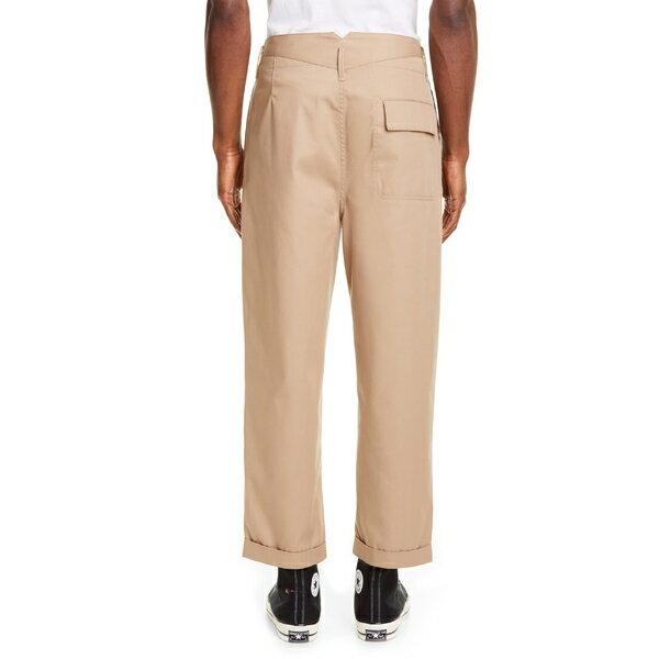 マルニ メンズ カジュアルパンツ ボトムス Marni Workwear Pants (Nordstrom Exclusive) Beige