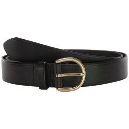 メイドウェル レディース ベルト アクセサリー Medium Perfect Leather Belt True Black