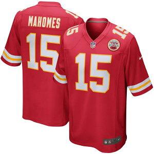 ナイキ メンズ ユニフォーム トップス Patrick Mahomes Kansas City Chiefs Nike Game Player Jersey Red