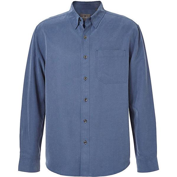 トップス, カジュアルシャツ  Royal Robbins Mens Desert Pucker LS Top Collins Blue
