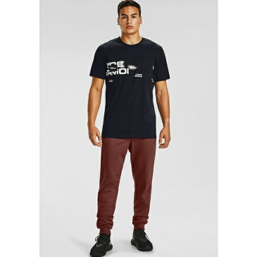 アンダーアーマー メンズ Tシャツ トップス Print T-shirt - black dvnq01c2