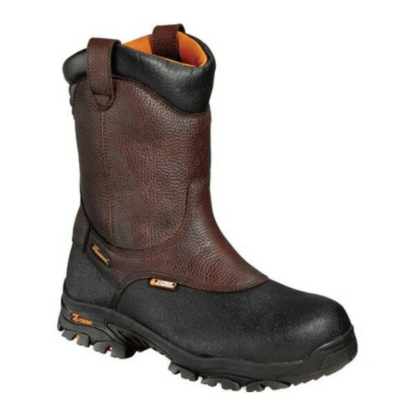 ブーツ, ワーク  8 Crossover Comp Toe Wellington Boot 804-4810 Brown Full Grain Leather