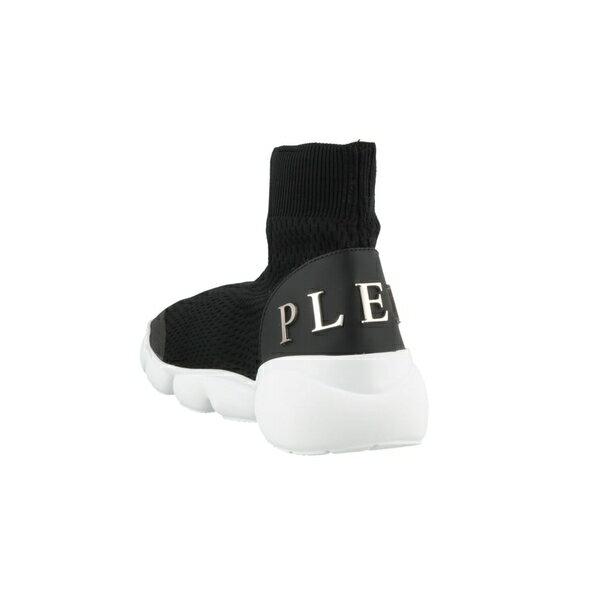フィリッププレイン メンズ スニーカー シューズ Philipp Plein Statement Sneakers Black