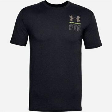 アンダーアーマー メンズ シャツ トップス PTH T Shirt Mens Black