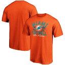 ファナティクス メンズ Tシャツ トップス Miami Dolphins Fanatics Branded Hometown Sunshine State TShirt Aqua