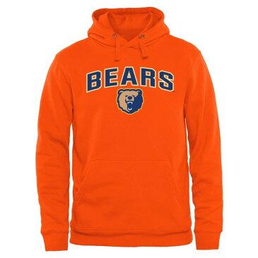ファナティクス メンズ パーカー・スウェットシャツ アウター Morgan State Bears Proud Mascot Pullover Hoodie Orange