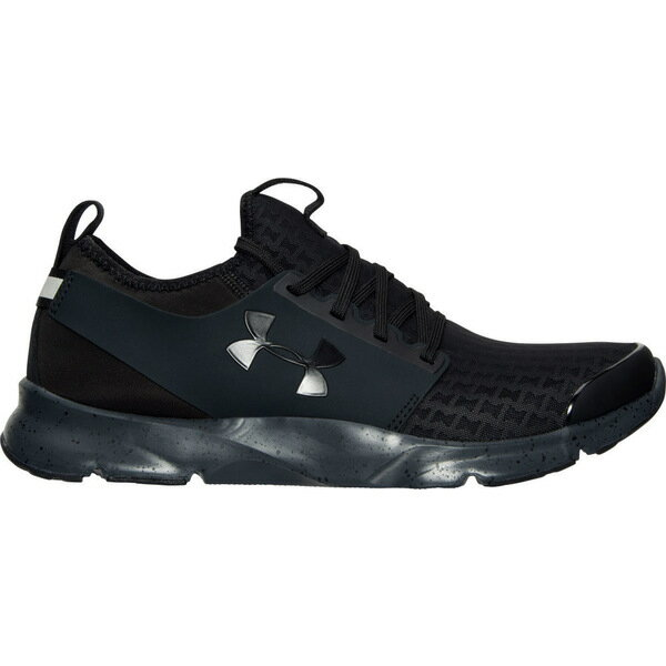 アンダーアーマー メンズ ランニング スポーツ Men's Under Armour Drift RN Clutch Running Shoes Black/Stealth Grey/Black