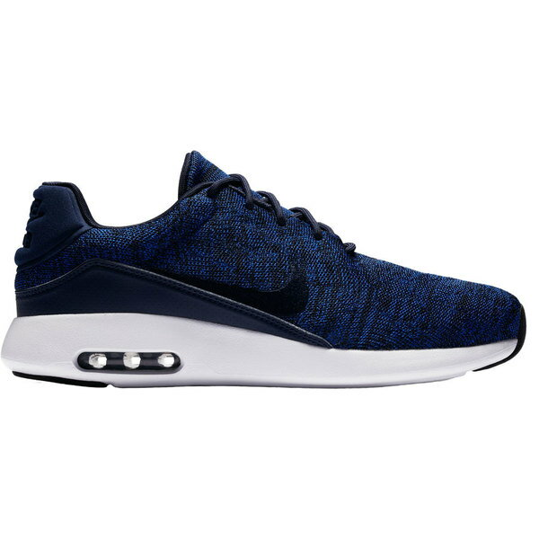 ナイキ メンズ ランニング スポーツ Men's Nike Air Max Modern Flyknit Running Shoes College Navy/Black
