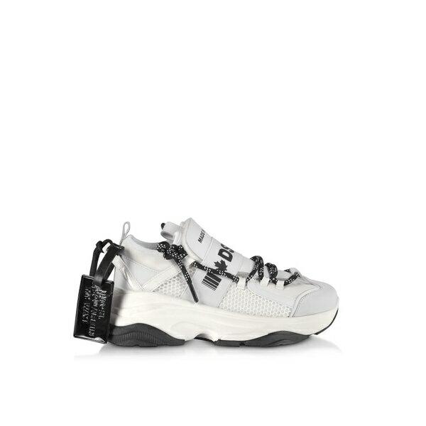 ディースクエアード レディース スニーカー シューズ Dsquared2 D-bumpy Neoprene And Leather Women's Sneakers -