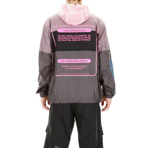マルセロバーロン メンズ ジャケット&ブルゾン アウター Marcelo Burlon Contaminacion Jacket MULTICOLORGrey
