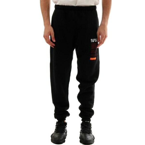 ヘロン プレストン メンズ カジュアルパンツ ボトムス HERON PRESTON Nasa Slim Sweatpants Black