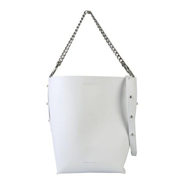 レベッカミンコフ レディース ショルダーバッグ バッグ Rebecca Minkoff Shopping Bag BIANCO