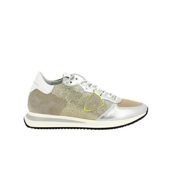 フィリップモデル レディース スニーカー シューズ Philippe Model Sneakers Shoes Women Philippe Model gold