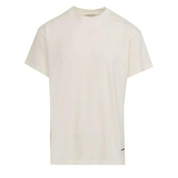 ジル・サンダー メンズ カットソー トップス T-shirt Jil Sander White